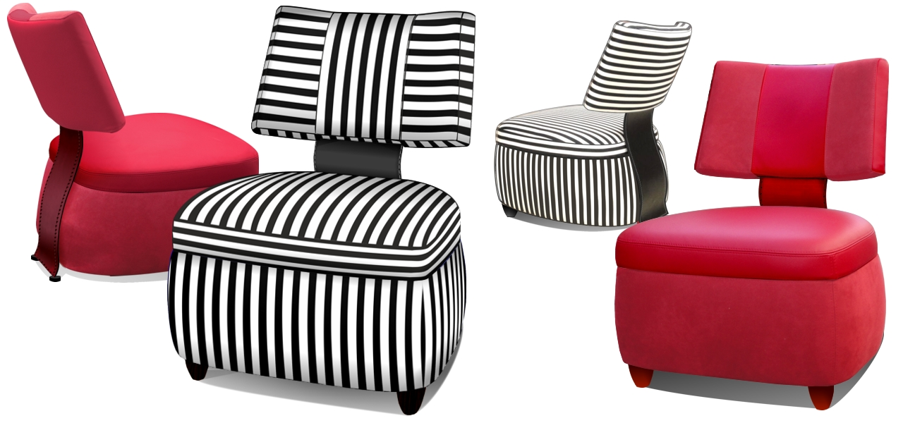 perida.nl Bijzet fauteuil Bobo, styling Maroeska Metz