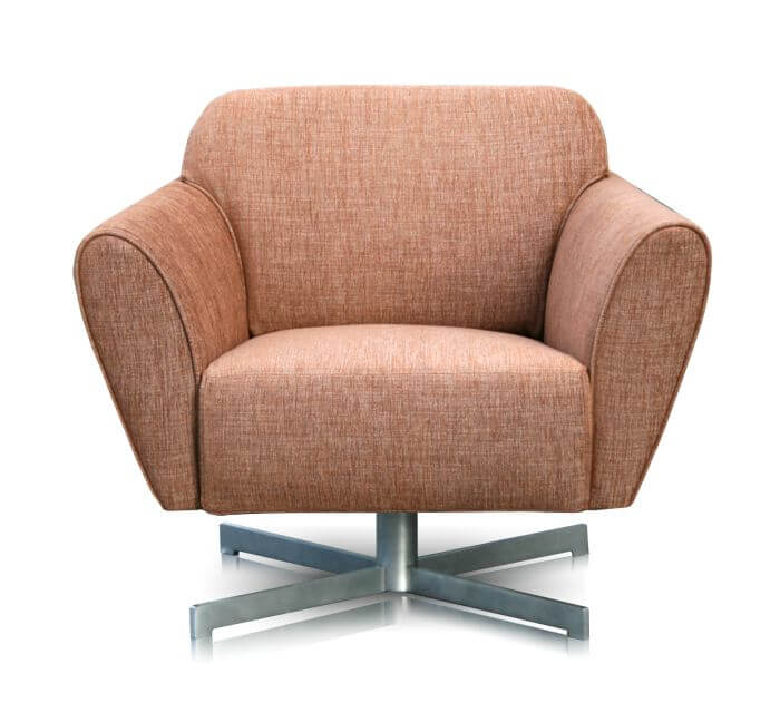 perida.nl fauteuil model Mood vooraanzicht in stof