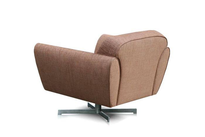 perida.nl fauteuil model Mood vooraanzicht in stof achter